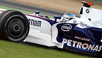 GEPA-2006087439 - MAGNY-COURS,FRANKREICH,20.JUN.08 - FORMEL 1, MOTORSPORT - Formel 1 Grand Prix, GP von Frankreich, Freies Training. Bild zeigt Nick Heidfeld (GER/ BMW Sauber).<br />Foto: GEPA pictures/ Andreas Reichart