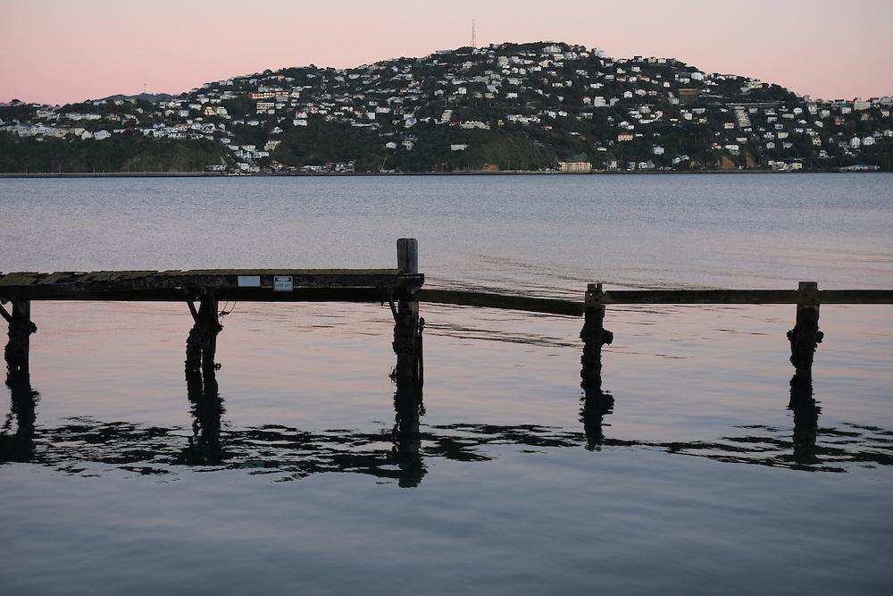 WELLINGTON, NEW ZEALAND - July 02: Shelly Bay Landscapes July 02, 2016 in Wellington, New Zealand. (Photo by Mark Tantrum/ http://marktantrum.com)