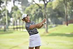 October 27, 2017 - Kuala Lumpur, Malaysia - Su Oh of Australia in action during day two of the Sime Darby LPGA Malaysia at TPC Kuala Lumpur on October 27, 2017 in Kuala Lumpur, Malaysia. (Credit Image: © Chris Jung/NurPhoto via ZUMA Press)