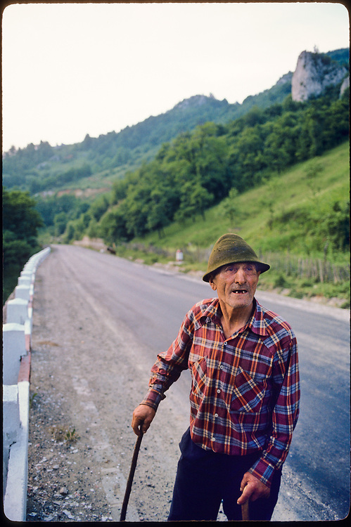 Transylvania, Romania, 1987.