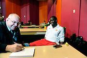 DESCRIZIONE : Championnat de France Media Day Palais des congres Ligue Nationale de Basket <br /> GIOCATORE : Gille Gahier Souleymane DIABATE (SLUC Nancy)<br /> SQUADRA : <br /> EVENTO : lnb<br /> GARA : <br /> DATA : 20/09/2012<br /> CATEGORIA : Basketball Homme LNB<br /> SPORT : Basketball<br /> AUTORE : JF Molliere<br /> Galleria : France Basket 2012-2013 Reportage<br /> Fotonotizia : LNB Basket Pro A<br /> Predefinita :