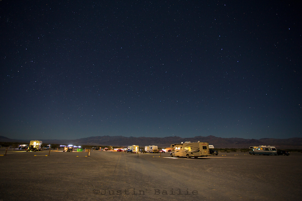 Stovepipe Wells, Campground. Death Valley, California.
