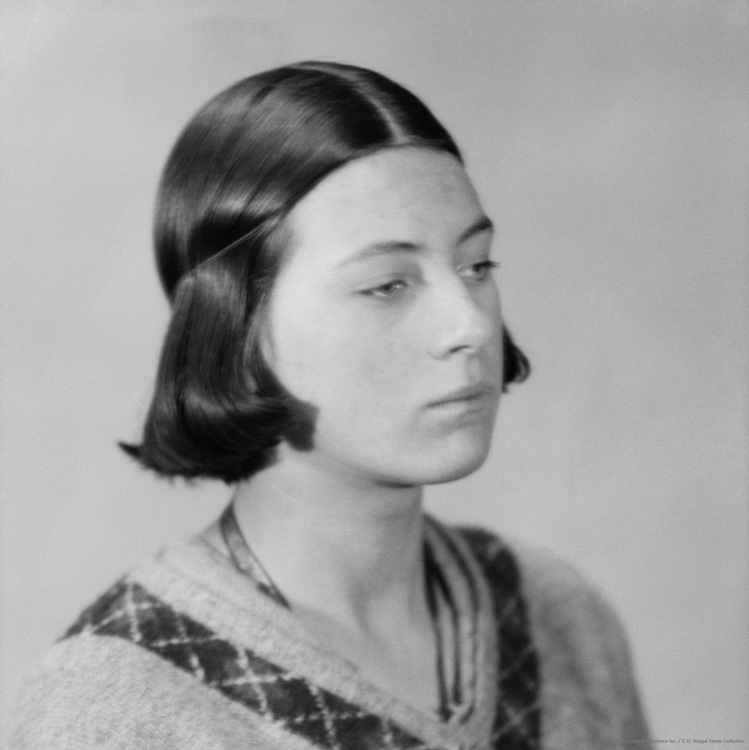 Mary Spencer Watson, sculptor, daughter of George Spencer Watson, 1928