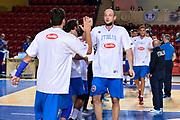 DESCRIZIONE : Tbilisi Nazionale Italia Uomini Tbilisi City Hall Cup Italia Italy Lettonia Latvia<br /> GIOCATORE : Marco Cusin<br /> CATEGORIA : presentazione pregame before<br /> SQUADRA : Italia Italy<br /> EVENTO : Tbilisi City Hall Cup<br /> GARA : Italia Lettonia Italy Latvia<br /> DATA : 14/08/2015<br /> SPORT : Pallacanestro<br /> AUTORE : Agenzia Ciamillo-Castoria/Max.Ceretti<br /> Galleria : FIP Nazionali 2015<br /> Fotonotizia : Tbilisi Nazionale Italia Uomini Tbilisi City Hall Cup Italia Italy Lettonia Latvia