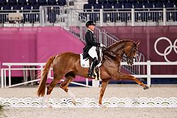 Werth Isabell, GER, Bella Rose 2, 140<br /> Olympic Games Tokyo 2021<br /> © Hippo Foto - Stefan Lafrentz<br /> 27/07/2021