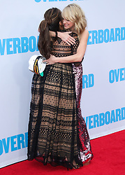 Los Angeles Premiere Of Lionsgate And Pantelion Film's 'Overboard' held at the Regency Village Theatre on April 31, 2018 in Westwood, Los Angeles, California, United States. 30 Apr 2018 Pictured: Eva Longoria, Anna Faris. Photo credit: Xavier Collin/Image Press Agency / MEGA TheMegaAgency.com +1 888 505 6342