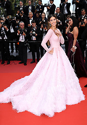Iris Mittenaere attending the Oh Mercy! premiere, during the 72nd Cannes Film Festival. Photo credit should read: Doug Peters/EMPICS