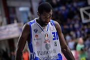 DESCRIZIONE : Campionato 2015/16 Serie A Beko Dinamo Banco di Sardegna Sassari - Dolomiti Energia Trento<br /> GIOCATORE : Christian Eyenga<br /> CATEGORIA : Ritratto Delusione Postgame<br /> SQUADRA : Dinamo Banco di Sardegna Sassari<br /> EVENTO : LegaBasket Serie A Beko 2015/2016<br /> GARA : Dinamo Banco di Sardegna Sassari - Dolomiti Energia Trento<br /> DATA : 06/12/2015<br /> SPORT : Pallacanestro <br /> AUTORE : Agenzia Ciamillo-Castoria/L.Canu
