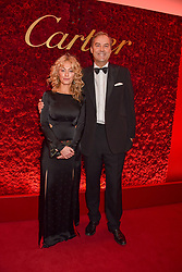 The Hon.Harry Herbert and Clodagh McKenna at The Cartier Racing Awards 2018 held at The Dorchester, Park Lane, England. 13 November 2018. <br /> <br /> ***For fees please contact us prior to publication***