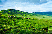 remote tribal village on the outskirts of Ngorongoro Conservation Area, Tanzania