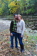 10/14/12 9:27:45 AM - Newtown, PA.. -- Amanda & Elliot October 14, 2012 in Newtown, Pennsylvania. -- (Photo by William Thomas Cain/Cain Images)