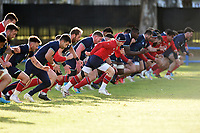 Rugby Union - 2021 British & Irish Lions Tour of South Africa - Training at Hermanus High School, Hermanus<br /> <br /> The British & Irish Lions players take off on sprint training.<br /> <br /> COLORSPORT / DAVID GIBSON