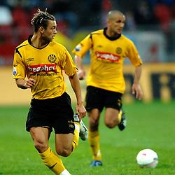 09-05-2007 VOETBAL: PLAY OFF: UTRECHT - RODA: UTRECHT<br /> In de play-off-confrontatie tussen FC Utrecht en Roda JC om een plek in de UEFA Cup is nog niets beslist. De eerste wedstrijd tussen beide in Utrecht eindigde in 0-0 / Jamaique Vandamme<br /> ©2007-WWW.FOTOHOOGENDOORN.NL