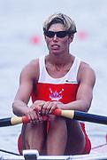 Atlanta, United States of America.  CAN W1X, Silken LAUMANN, 1996 Olympic Regatta, Lake Lanier, Gainesville. Georgia. [Mandatory Credit: Peter Spurrier: Intersport Images]