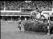 Aga Khan Trophy..1979..10.08.1979..08.10.1979..10th August 1979..The annual staging of the Aga Khan Cup took place  at the Royal Dublin Showgrounds, Ballsbridge,Dublin today.It was the first time since 1937 that Ireland won the trophy outright. The winning Irish team comprised of Paul Darragh,Capt Con Power,James Kernan and Eddie Macken.