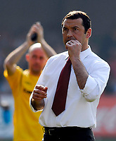 Photo: Alan Crowhurst.<br />Brentford v Nottingham Forest. Coca Cola League 1. 14/04/2007. Forest's manager Colin Calderwood.