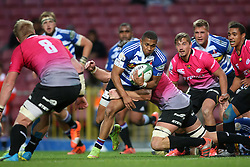 Leolin Zas of Western Province breaks for the try line during the Currie Cup Premier Division match between the DHL Western Province and the Pumas held at the DHL Newlands rugby stadium in Cape Town, South Africa on the 17th September  2016<br /> <br /> Photo by: Shaun Roy / RealTime Images