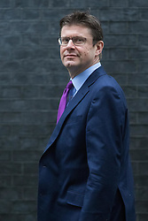 Downing Street, London, January 31 2017. Business Secretary Greg Clark arrives at the weekly meeting of the UK cabinet.