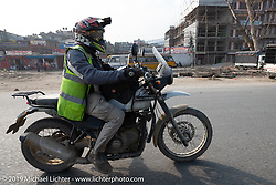 Returning to Kathmandu on Motorcycle Sherpa's Ride to the Heavens motorcycle adventure in the Himalayas of Nepal. Riding from Daman back to Kathmandu. Wednesday, November 13, 2019. Photography ©2019 Michael Lichter.