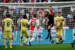 25-04-2010 VOETBAL: AJAX - FEYENOORD: AMSTERDAM<br /> De eerste wedstrijd in de bekerfinale is gewonnen door Ajax met 2-0 / Erwin Mulder<br /> ©2009-WWW.FOTOHOOGENDOORN.NL