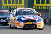 Race five winner Trading Post's Will Davison in action during  Race 5 of the ITM 400 Hamilton,Hamilton Street Circuit, Day Two, Hamilton City ,V8 supercars,, Photo: Dion Mellow / photosport.co.nz