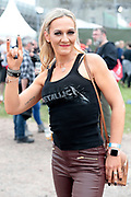 NO FEE PICTURES                                                                                                                                                8/6/19 Liz Thornton, Kildare at Metallica's sold out concert, with 75,000 fans at Slane Castle in Co Meath. Picture: Arthur Carron