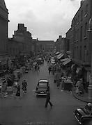 Views of Moore St. looking towards Henry St..08+09/07/1960