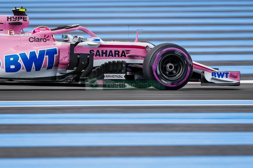 June 23, 2018 - Le Castellet, France - Motorsports: FIA Formula One World Championship 2018, Grand Prix of France, .#31 Esteban Ocon (FRA, Sahara Force India F1 Team) (Credit Image: © Hoch Zwei via ZUMA Wire)