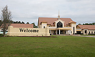 New Life Tabernacle Church, holding services despite the stay-at-home order meant to stop the spread of COVID-19.