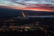 Deparing Seattle on a morning flight