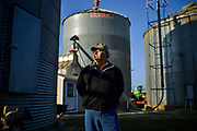 36586 VERSAILLES, Ind. - January 21, 2015. -  <br /> Jim D. Benham, 63, poses for a portrait on his 1,300 acre farm. Bonham was born and raised on the farm and has worked as a farmer for 50 years. Mr. Benham is among a small but growing number of Midwestern farmers moving away from biotech seeds developed by companies like Monsanto Co. and DuPont Co. in response to big drops in crop prices over the past two years that have slashed farmers' profits at the same time seed and other farm costs continue to rise.<br /> <br /> William DeShazer for The Wall Street Journal