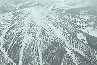 Aerial of Taylor Mountain