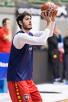 Edgar Vicedo during training session of Spain national team before european qualifiers to World Cup 2019 at Coliseum Burgos in Madrid, Spain. November 26, 2017. (ALTERPHOTOS/Borja B.Hojas)