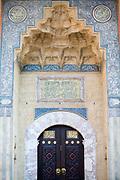 Door detail of the Mosque in Sarajevo