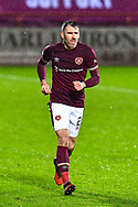 Michael Smith (#2) of Heart of Midlothian FC during the SPFL Championship match between Heart of Midlothian and Ayr United at Tynecastle Park, Edinburgh, Scotland on 26 December 2020.