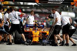 July 27, 2018 - Budapest, Hungary - Motorsports: FIA Formula One World Championship 2018, Grand Prix of Hungary, .#2 Stoffel Vandoorne (BEL, McLaren F1 Team) (Credit Image: © Hoch Zwei via ZUMA Wire)