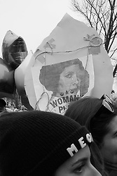 """""""Meow"""" at the Women's March on Washington, D.C."""