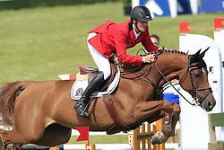 Bruynseels Niels (BEL) - Aluna<br /> The Meydan FEI Nations Cup<br /> Falsterbo Horse Show 2009<br /> © Hippo Foto - Leanjo de Koster