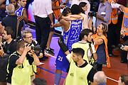 DESCRIZIONE : Campionato 2014/15 Serie A Beko Grissin Bon Reggio Emilia - Dinamo Banco di Sardegna Sassari Finale Playoff Gara7 Scudetto<br /> GIOCATORE : Jeff Brooks<br /> CATEGORIA : esultanza postgame<br /> SQUADRA : Banco di Sardegna Sassari<br /> EVENTO : Campionato Lega A 2014-2015<br /> GARA : Grissin Bon Reggio Emilia - Dinamo Banco di Sardegna Sassari Finale Playoff Gara7 Scudetto<br /> DATA : 26/06/2015<br /> SPORT : Pallacanestro<br /> AUTORE : Agenzia Ciamillo-Castoria/GiulioCiamillo<br /> GALLERIA : Lega Basket A 2014-2015<br /> FOTONOTIZIA : Grissin Bon Reggio Emilia - Dinamo Banco di Sardegna Sassari Finale Playoff Gara7 Scudetto<br /> PREDEFINITA :