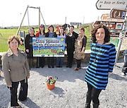 St Finans Bay Playground Chairperson Deirdre Casey,  and Treasurer Phil O'Dowd with committee members Tina O'Sullivan, Martina Tarrant, Mary O'Sullivan, Orla O'Connor , Monique Farrell and  Elaine Walsh O'Shea at the official opening of the new St Finans Bay Playground at The Glen, Ballinskelligs, Co. Kerry on Sunday.    Picture: Eamonn Keogh (MacMonagle, Killarney)