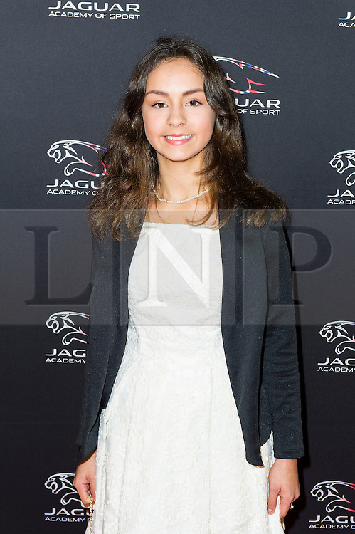 © Licensed to London News Pictures. 08/12/2013, UK. Esperanza Merry,  Jaguar Academy of Sport Awards, Royal Opera House, London UK, 08 December 2013. Photo credit : Raimondas Kazenas/Piqtured/LNP