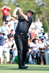 March 14, 2019 - Ponte Vedra Beach, FL, U.S. - PONTE VEDRA BEACH, FL - MARCH 14: Phil Mickelson of the United States hits a tee shot on the 16th hole during the first round of THE PLAYERS Championship on March 14, 2019 on the Stadium Course at TPC Sawgrass in Ponte Vedra Beach, Fl. (Photo by David Rosenblum/Icon Sportswire) (Credit Image: © David Rosenblum/Icon SMI via ZUMA Press)