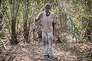 François Zizunga était autrefois l'un des plus grands chasseurs d'éléphants du village de Fodé, dans l'est de la République centrafricaine. Il souhaite aujourd'hui que la chasse cesse. «De toute façon il n'y a plus d'éléphants. Il faut les protéger pour que nos enfants puissent en voir un jour.»