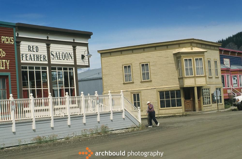 Red Feather Saloon in Dawson City Yukon