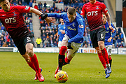 Ryan Kent of Rangers during the Ladbrokes Scottish Premiership match between Rangers and Kilmarnock at Ibrox, Glasgow, Scotland on 16 March 2019.