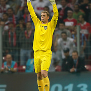 Germany's goalkeepers Manuel NEUER during their UEFA EURO 2012 Qualifying round Group A matchday 19 soccer match Turkey betwen Germany at TT Arena in Istanbul October 7, 2011. Photo by TURKPIX