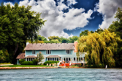 Just a random house along Lake Minnetonka in Minnesota