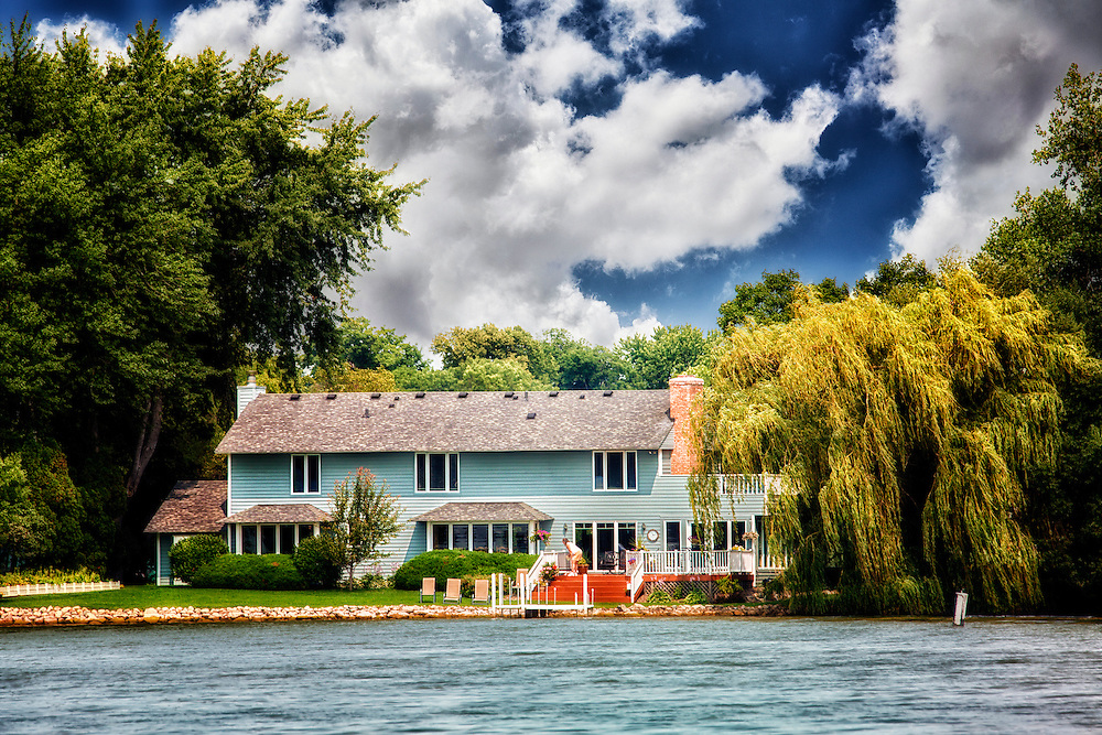Just a random house along Lake Minnetonka in Minnesota