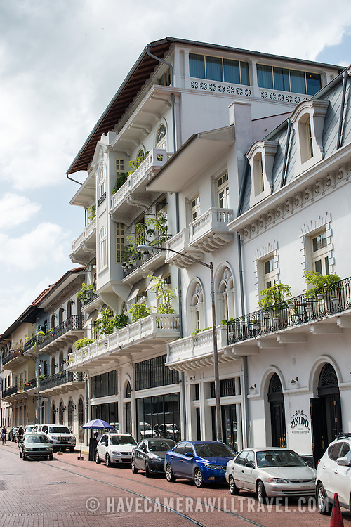 The American Trade Hotel is a boutique luxury hotel in the heart of the historic Casco Viejo neighborgood of Panama City.