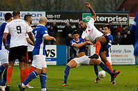 Courtney Meppen-Walters. Nuneaton Town Football Club 1-1 Stockport County Football Club, Vanarama National League North, 12.11.16.